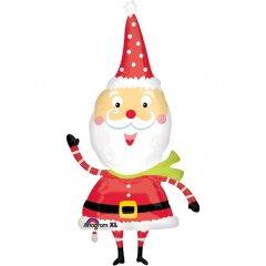 Фигура Санта Забавный
