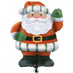 Фигура Санта приветсвует
