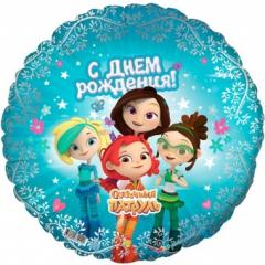 Шар-круг герои мультфильмов