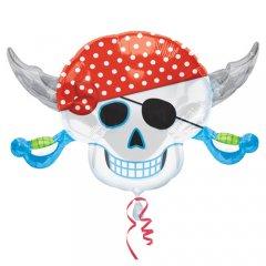 Фигура Пиратский череп с саблями