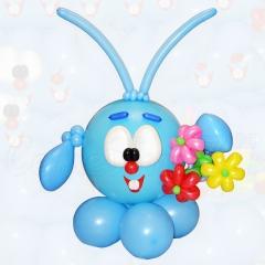 Фигура из шариков Смешарики Крош