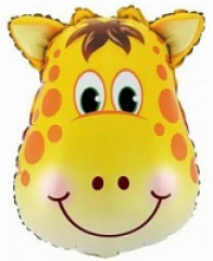Голова жирафа, зебры или обезьяны