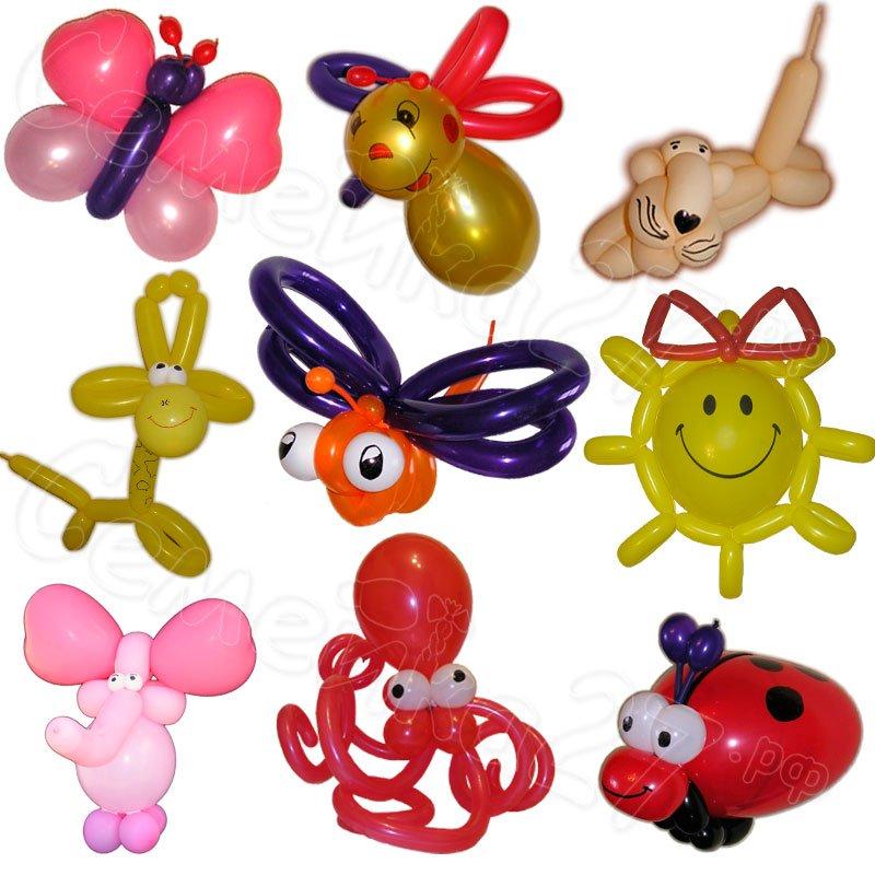 Поделки из шариков своими руками фото схемы для детей 80