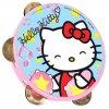 Музыкальный бубен Hello Kitty 15 см