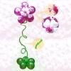 Парящий цветок